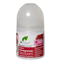 Dr Organic Alumíniummentes golyós dezodor bio gránátalmával 50ml